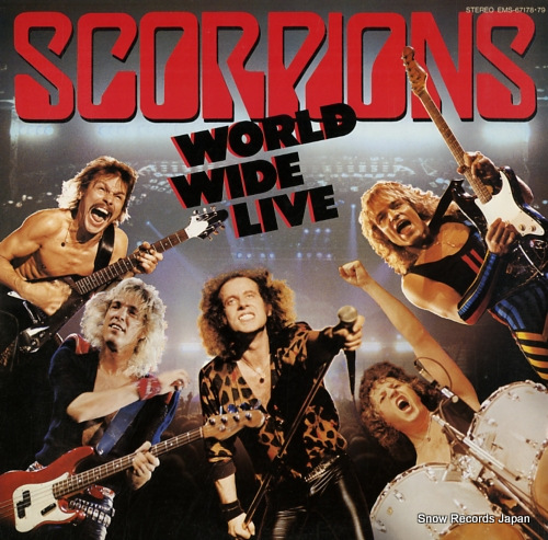 SCORPIONS world wide live
