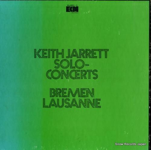 JARRETT, KEITH solo concert