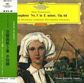 MRAWINSKIJ, JEWGENJI tchaikovsky; symphony no.5 in e minor, op.64