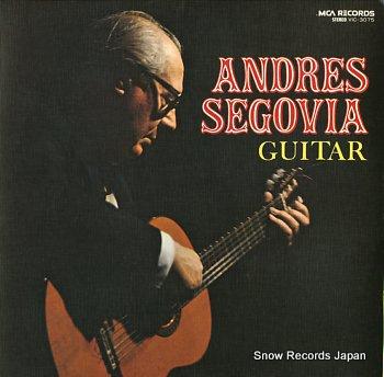 SEGOVIA, ANDRES guitar