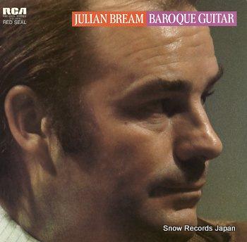 BREAM, JULIAN baroque guitar