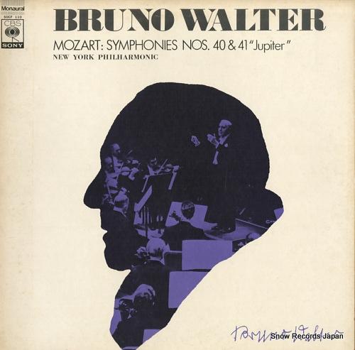 WALTER, BRUNO mozart; symphonies nos.40 & 41 jupiter