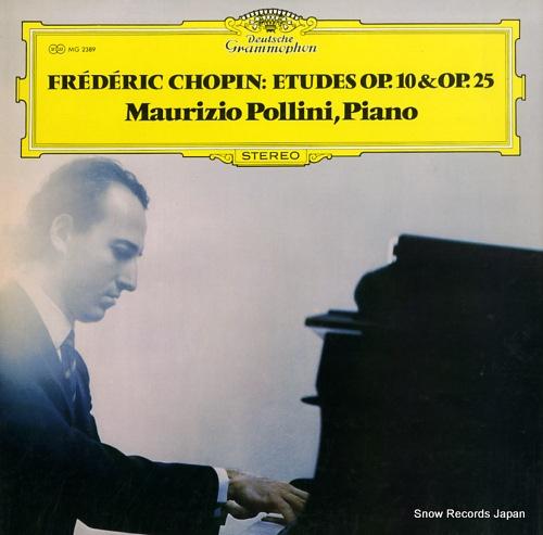 POLLINI, MAURIZIO chopin; etudes op.10 & op.25