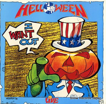 HELLOWEEN i want out - live