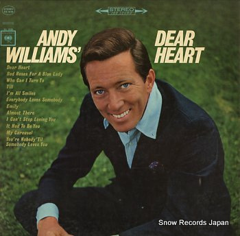 WILLIAMS, ANDY dear heart