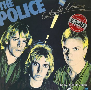 POLICE, THE outlandos d'amour