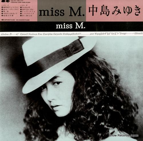 NAKAJIMA, MIYUKI miss m.