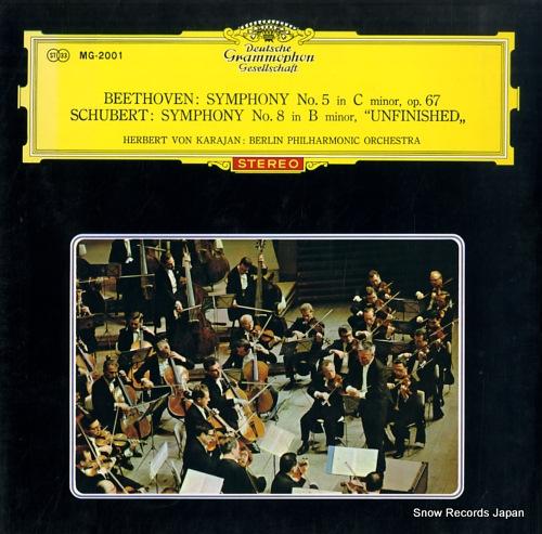 KARAJAN, HERBERT VON beethoven; symphony no.5 in c minor, op.67