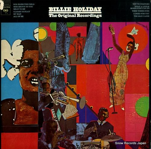 HOLIDAY, BILLIE original recordings, the