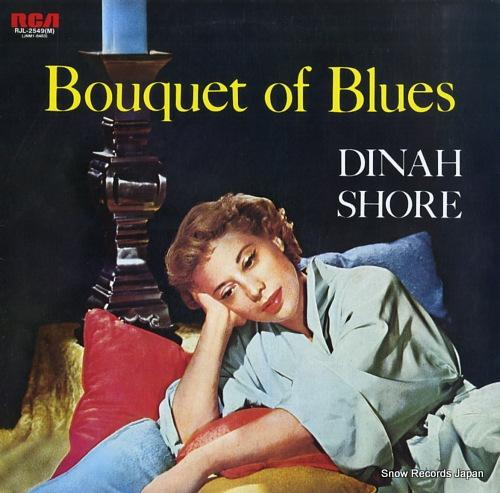 SHORE, DINAH bouquet of blues