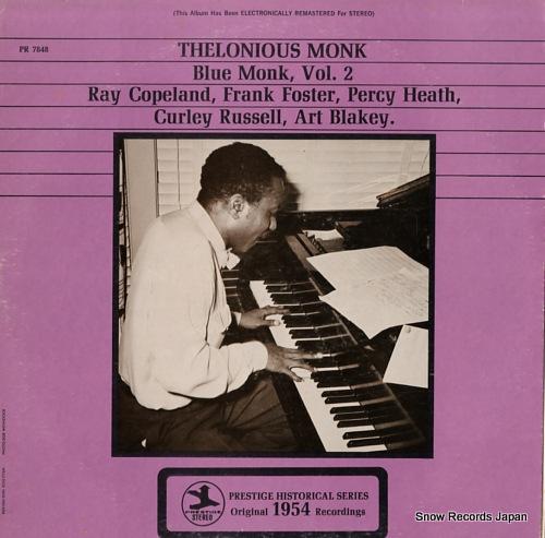 MONK, THELONIOUS blue monk,vol.2