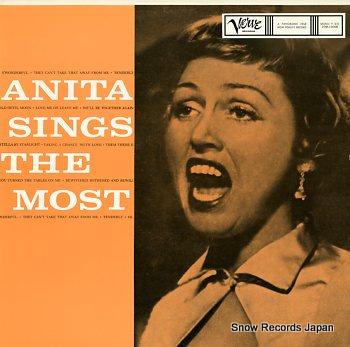 O'DAY, ANITA anita sings the most