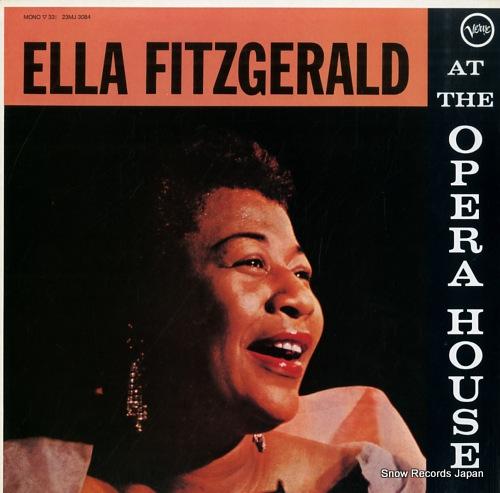 FITZGERALD, ELLA at the opera house