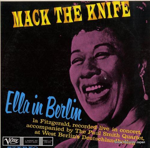 FITZGERALD, ELLA mack the knife / ella in berlin