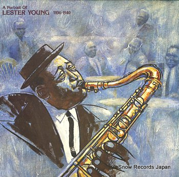 YOUNG, LESTER portrait of lester young 1936-1940, a