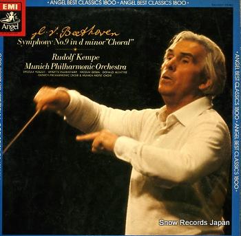 KEMPE, RUDOLF beethoven; symphony no.9 in d minor, op.125