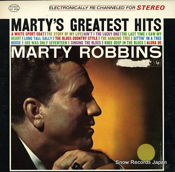 ROBBINS, MARTY marty's greatest hits