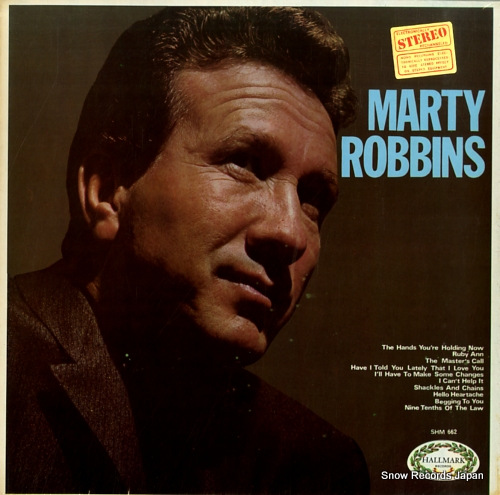 ROBBINS, MARTY s/t