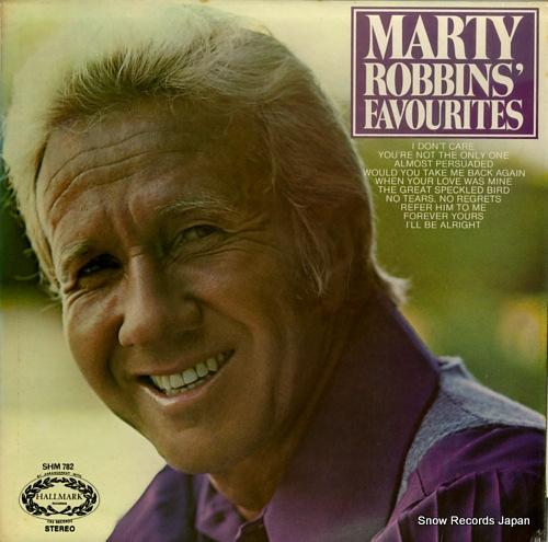ROBBINS, MARTY marty robbins' favourites