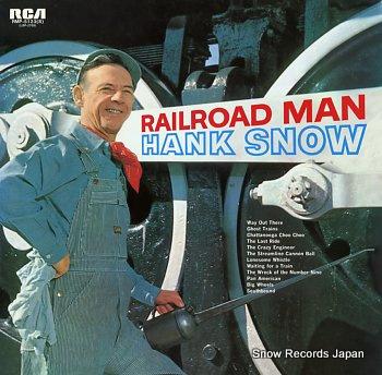 SNOW, HANK railroad man