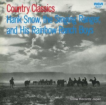 SNOW, HANK country classics
