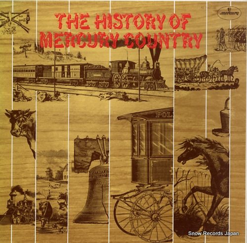 V/A history of mercury country, the