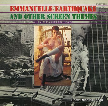 FILM STUDIO ORCHESTRA, THE emmanuelle / earthquake and other screen themes