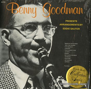 GOODMAN, BENNY presents arrangements eddie sauter