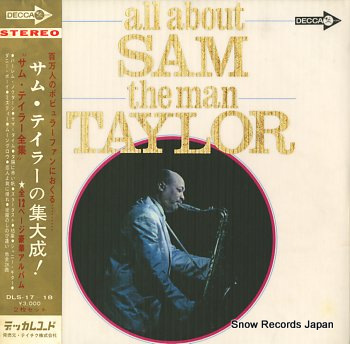 TAYLOR, SAM all about sam (the man) taylor
