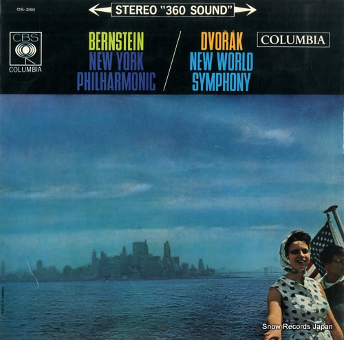 BERNSTEIN, LEONARD dvorak; new world symphony