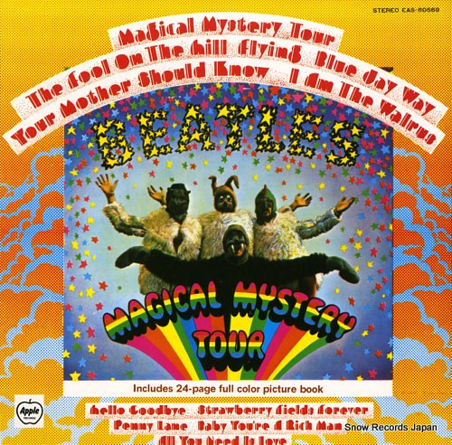 BEATLES, THE magical mystery tour
