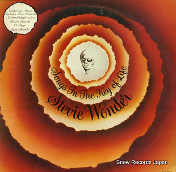 WONDER, STEVIE songs in the key of life