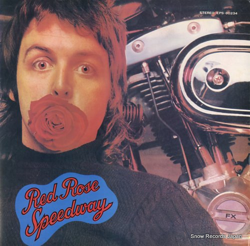 MCCARTNEY, PAUL & WINGS red rose speedway
