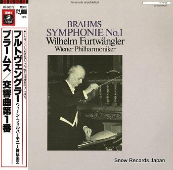 FURTWANGLER, WILHELM beethoven; symphonie no.1