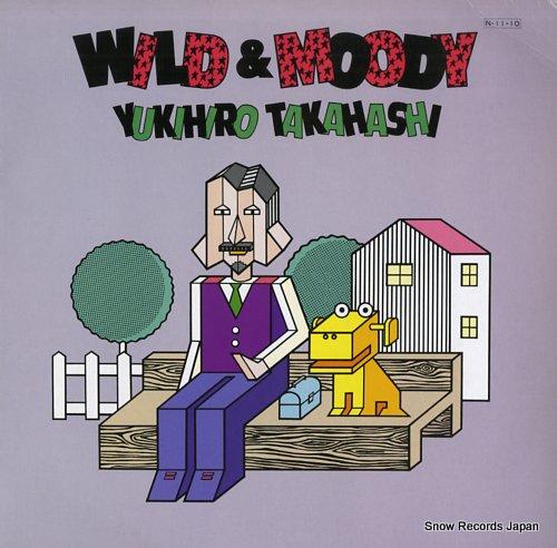 TAKAHASHI YUKIHIRO - wild & moody - 33T