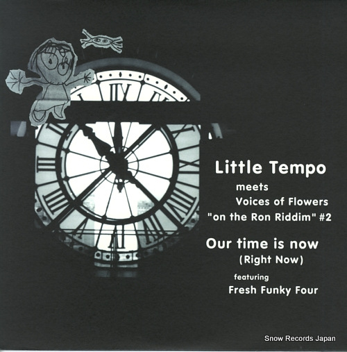 LITTLE TEMPO our time is now RR12-88171 - front cover
