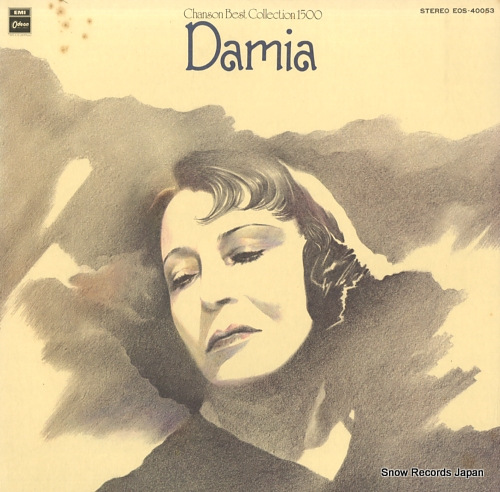 DAMIA chanson best collection 1500 EOS-40053 - front cover
