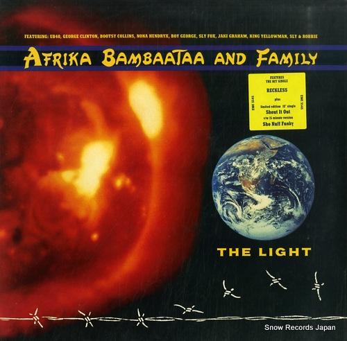 AFRIKA BAMBAATAA AND FAMILY the light EMC3545 - front cover
