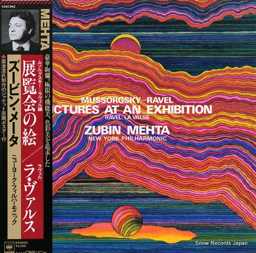 MEHTA, ZUBIN ravel; pictures at an exhibition 25AC842 - front cover