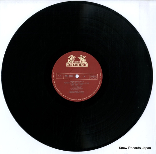 FRICSAY, FERENC mozart; symphony no.40 & no.41jupiter MH5002 - disc