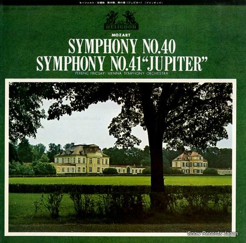 FRICSAY, FERENC mozart; symphony no.40 & no.41jupiter MH5002 - front cover