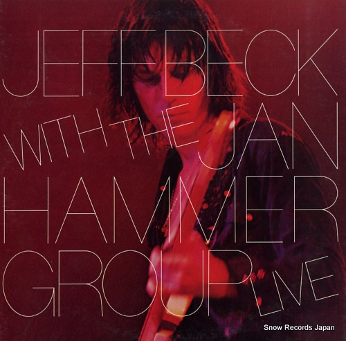 BECK, JEFF with the jan hammer group live 25AP359 - front cover