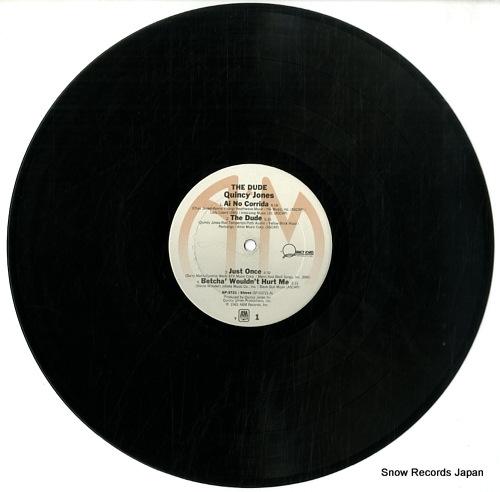 JONES, QUINCY the dude SP-3721 - disc