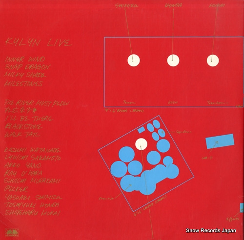 WATANABE, KAZUMI kylyn live YB-7506-7-ND - back cover