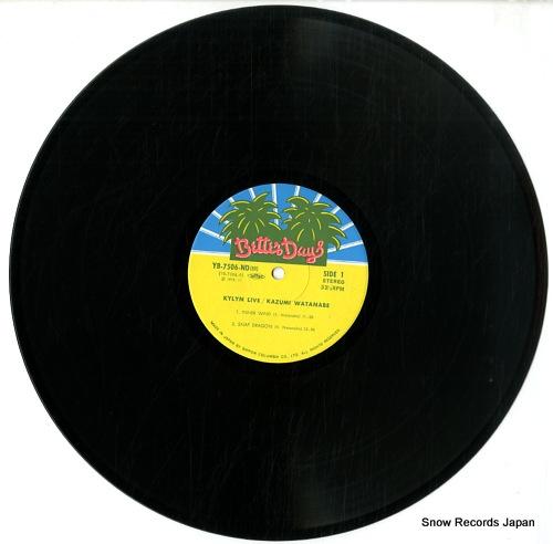 WATANABE, KAZUMI kylyn live YB-7506-7-ND - disc