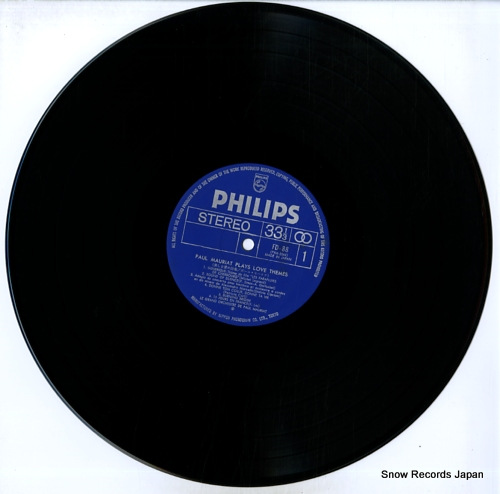MAURIAT, PAUL paul mauriat plays love themes FD-88 - disc