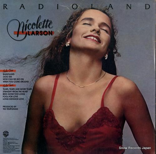 LARSON, NICOLETTE radioland BSK3502 - back cover