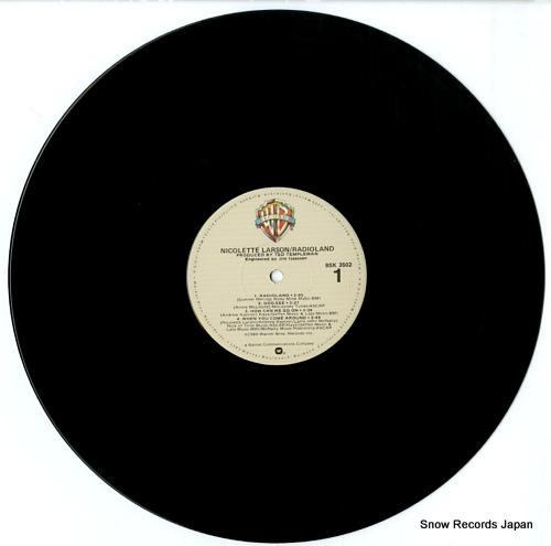 LARSON, NICOLETTE radioland BSK3502 - disc