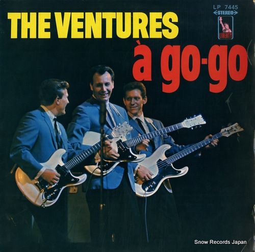 VENTURES, THE ventures a go-go LP7445 - front cover