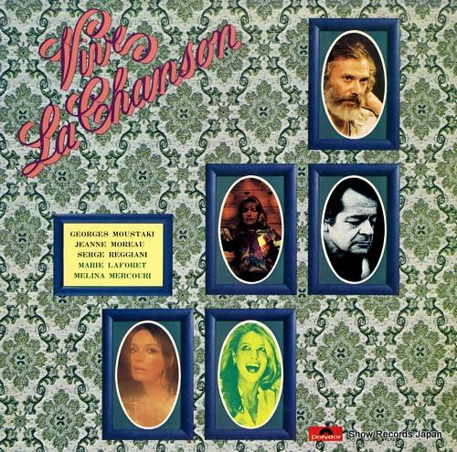V/A viva la chanson MP3004 - front cover